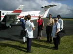 Das Team der Flying Doctors