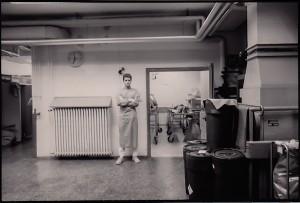 "Vor dem ""Katastrophenraum"", 1991"